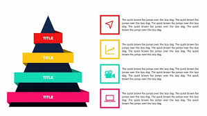 Ppt Pyramid Make A Stacked Pyramid Model On Powerpoint That Looks Awesome