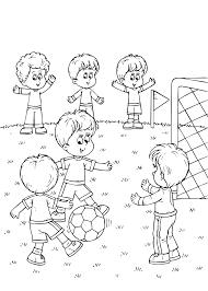 Kleurplaat Voetbal Download 28 Leukste Voetbal Kleurplaten