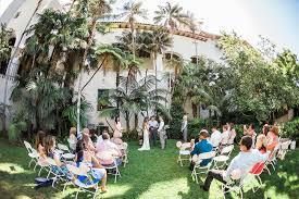 intimate santa barbara courthouse wedding photographer the photegé
