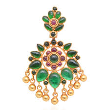 gold coated emerald silver pendant from grt jewellers