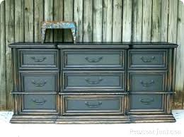 black distressed dresser. Exellent Distressed Black Distressed Dresser Furniture  Set   Inside Black Distressed Dresser E