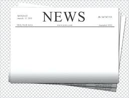 Free Blank Newspaper Template For Kids