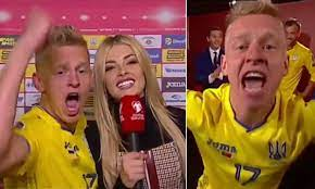 Man City Zinchenko Girlfriend : Zinchenko Makes Journalist Blush After  Kissing Her On Air Besoccer : This video is about manchester city players  wives/girlfriends/wags.