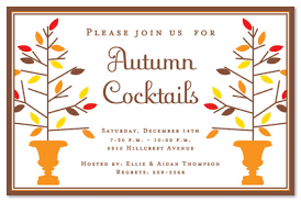 Fall Party Invitations From Myexpression And Get Inspired To Make