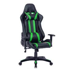 office reclining chair. costway executive racing style high back reclining chair gaming office computer blackgreen d