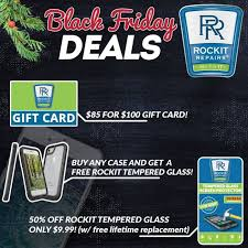black friday deals 2017 at rockit repairs cellphoen repair in fredericksburg virginia and stafford virginia