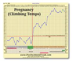 Positive Bbt Charts Fertility Charting Pee On A Stick Freak