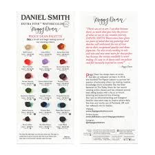 Daniel Smith Watercolor Dot Chart Peggy Dean X Daniel Smith Watercolors Dot Chart The Pigeon