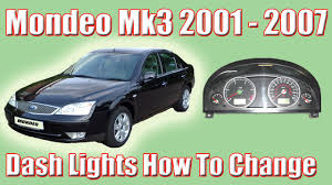 Remove Rear Light Cluster Ford Mondeo Part 1 Ford Mondeo Mk3 How To Change The Dash Lights And Removing The Clocks