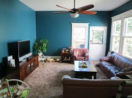 Living Room:Remarkable Blue Living Room Design With Blue Fabric Sofa Sets  Also Wooden Chrome