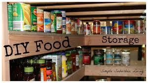 Pantry Under Stairs Diy Food Storage Pantry Save Time Save Money Buy Bulk And Be