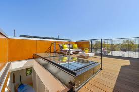 rooftop furniture. Rooftop Terrace Provided Outdoor Furniture To Enjoy The Panorama Around With Furniture.