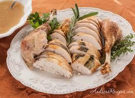 andrea meyers roast turkey in a roaster oven