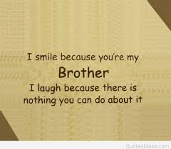 Brother Love Quotes Unique Brother Love Quotes Glamorous Funny Love Quote For My Brother