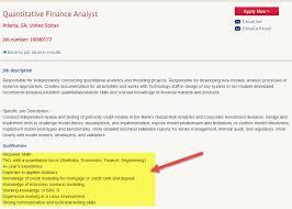 Management Analyst Job Description Inspiration How To Become A Quantitative Financial Analyst WallstreetMojo