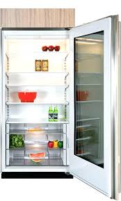 glass door refrigerator home for depot sub zero