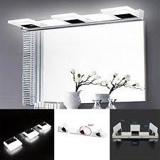 modern bathroom vanity lighting. modern bathroom vanity led light crystal front mirror toilet wall lamp fixture lighting