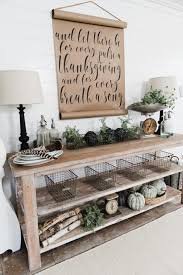 sofa table decor click  ideas about tv console decorating on pinterest tv stand decor mounted