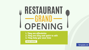 Grand Opening Invitations 002 Grand Opening Invitation Template Restaurant Invitations