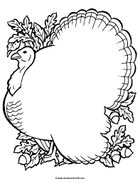 turkey body coloring pages. Beautiful Pages Blank Turkey Printable Page Throughout Body Coloring Pages P