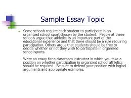accuplacer writing test ppt video online  sample essay topic