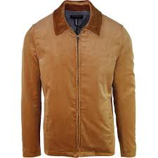 gloverall men s harrington cord jacket camel