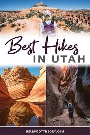 Best Hikes in Utah: 14 Epic Trails for your Bucketlist - MAPPED ...