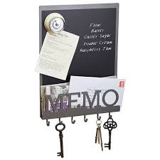 Memo Board With Hooks