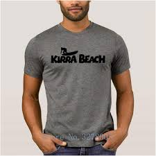Brand La Maxpa Art Basic Solid Mens T Shirt Kirra Beach Surfs Men T Shirt Anti Wrinkle 100 Cotton Clothing Tshirt Mens Great Tees Latest Designer T