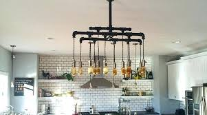 modern country chandelier custom modern vintage cloth cord rustic pipe metal industrial chandelier country kitchen