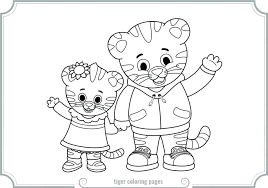 Daniel Tiger Coloring Pages Roomhiinfo