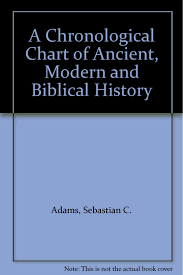 Sebastian C Adams Chronological Chart Amazon Com A Chronological Chart Of Ancient Modern And