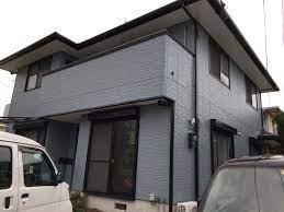 外壁 塗装 ブルー グレー