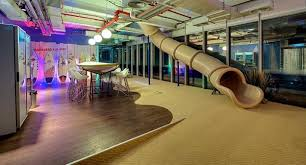 google slide in office. It Seems To Me That The Minimum Standards Of Qualifying For A Cool Office Is Having Slippery Slide...at Very Least. Otherwise, What\u0027s Point Google Slide In T