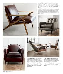 crate barrel furniture reviewslowe ivory leather. Crate \u0026 Barrel - Furniture Collection Spring/Summer 2015 Page 18-19 McAllister Leather Apartment Sofa Invokes Relaxed Old World Elegance With Reviewslowe Ivory M