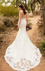 wedding dresses dramatic vintage wedding gown essense of australia