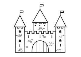Kleurplaat Kasteel 2 Koningsdag Castelli Castello En Bambini