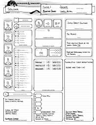hero forge character sheet october 2014
