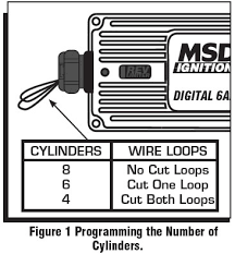how to install an msd 6a digital ignition module on your 1979 1995 the msd is programmed for operation on 8 cylinder engines if installing the ignition on a different style engine the number of cylinders will need to be