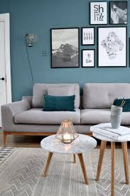 Style Insight: How To Use Summer Shades In A Minimal Home. Teal Living RoomsColour  ...