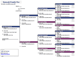 Excel Tree Chart Free Family Tree Template For Excel Free Family Tree