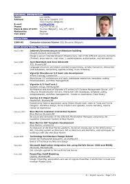Gallery Of Sample Cv Resume