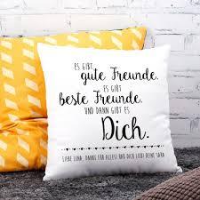 Kuschelkissen Mit Spruch Und Ihrem Wunschtext