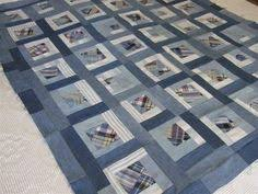 Blue Giant denim quilt pattern from upcycled jeans | Denim quilt ... & Here are 25 wonderful FREE patterns for denim quilts, pillows and bags !  For even more inspiration, see our previous posts on quilts made . Adamdwight.com