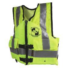 Stearns Work Zone Gear Yellow Life Vest