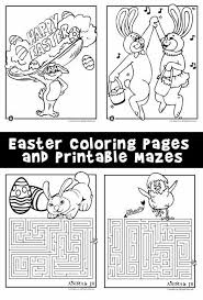 Print And Color These Easter Coloring Pages On Your Spring Break
