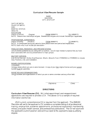 Examples Of Resumes 89 Terrific Simple Job Resume Examples
