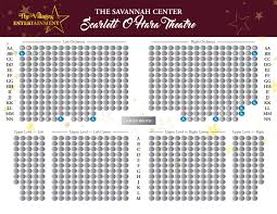Sumter Opera House Seating Chart Savannah Center The Villages Entertainment The Villages