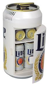 cool miller lite cooler sticker