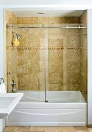 frameless sliding shower doors tub. Super Idea Glass Shower Doors For Tub Tubs Frameless Surround Enclosure Etched Sliding U
